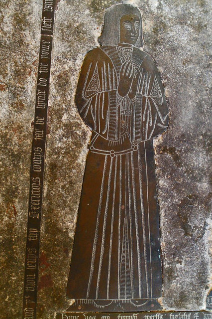 Sir John Reade Brass, Ss Mary & Nicholas church, Wrangle