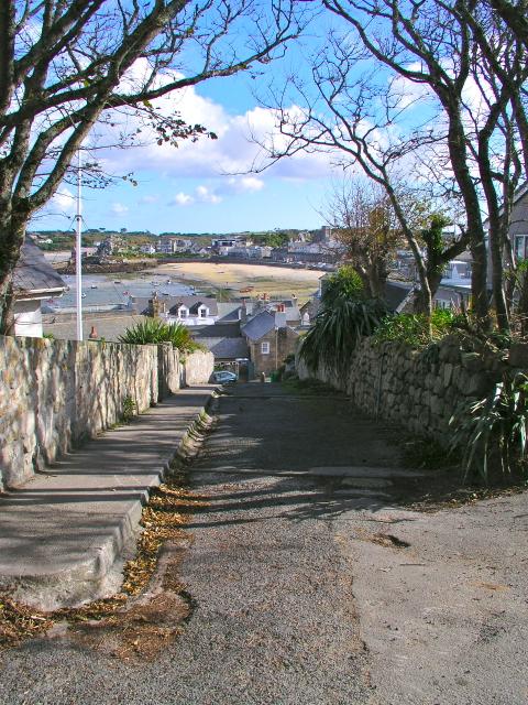 Garrison Hill Hugh Town St Mary's