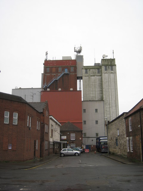 Flour mills, Selby
