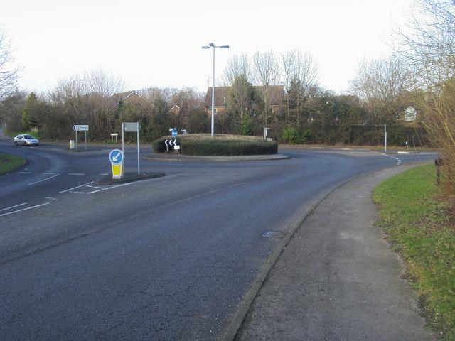 Templars Way Roundabout