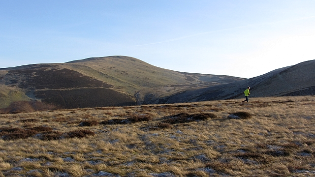 A view of Allermuir Hill