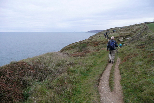 Coast path north-east of Portreath