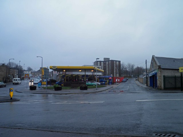 Jet fuel garage Paddock Foot Huddersfield