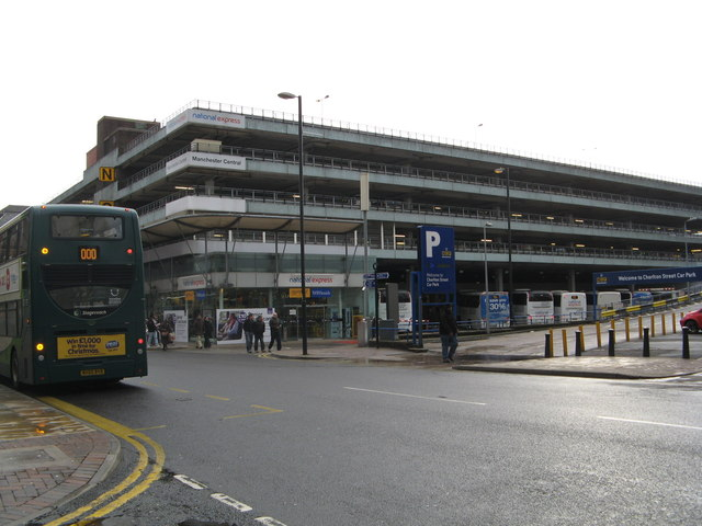 Manchester National Express Coach Station