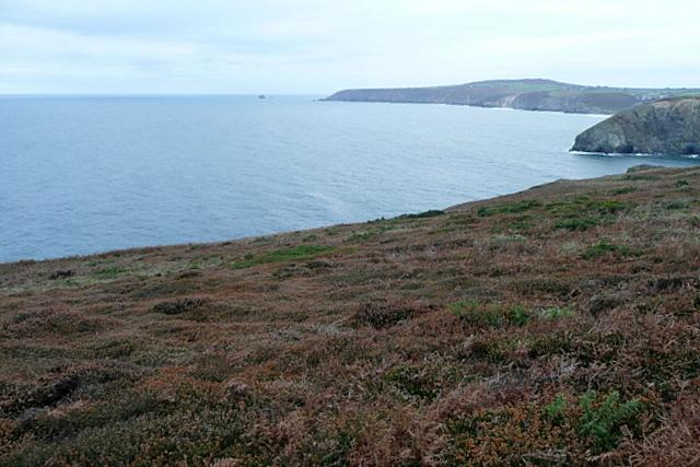Coastal path near Portreath airfield