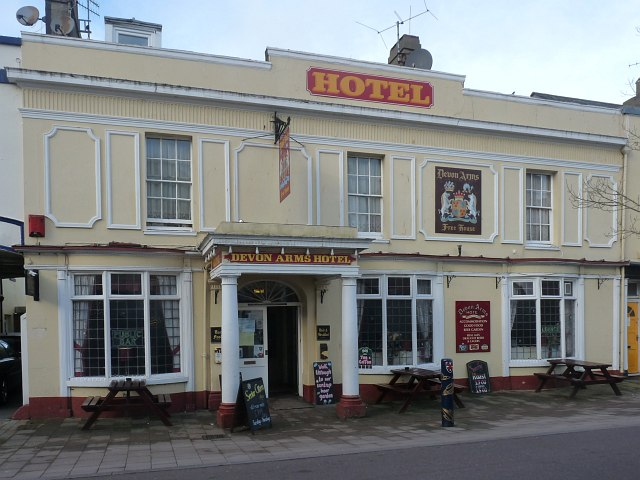 Devon Arms Hotel, Northumberland Place, Teignmouth