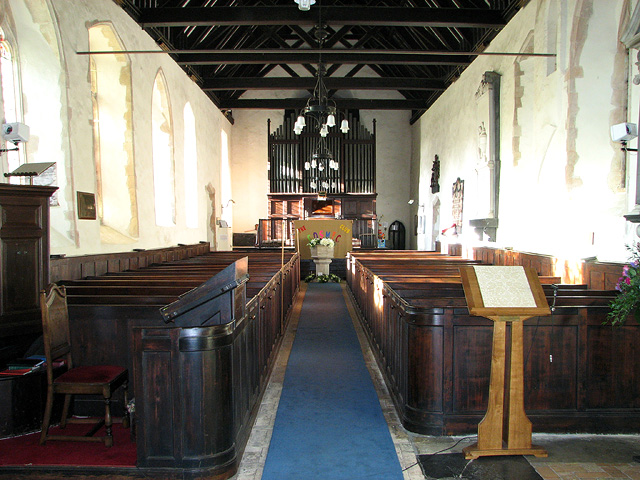 The church of all Saints in Easton
