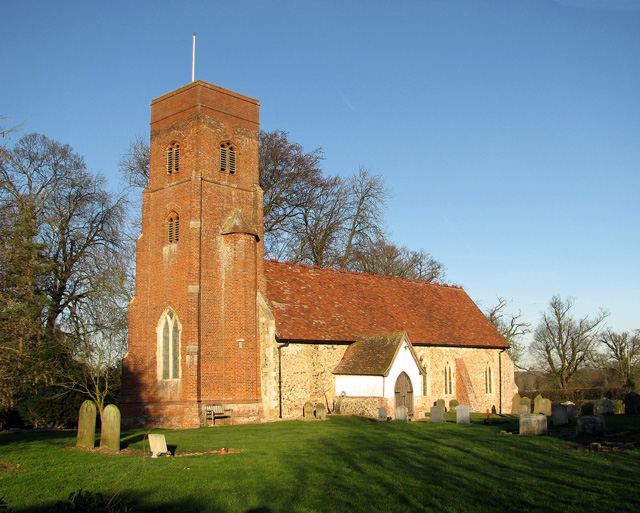 The church of St Andrew and St Eustachius in Hoo
