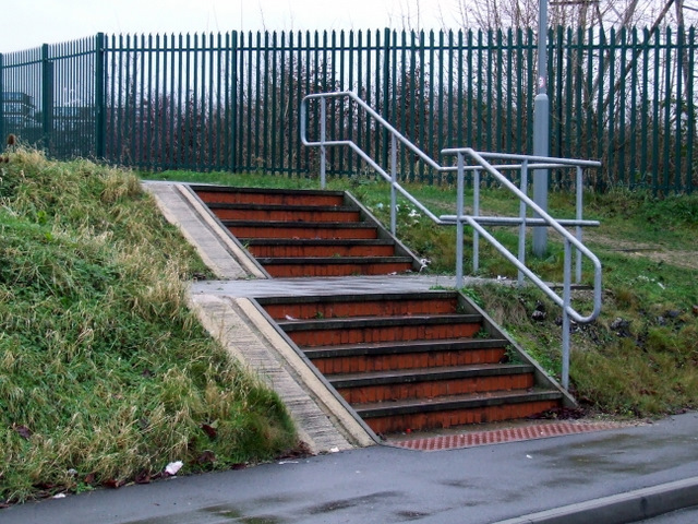 Steps at Park Street