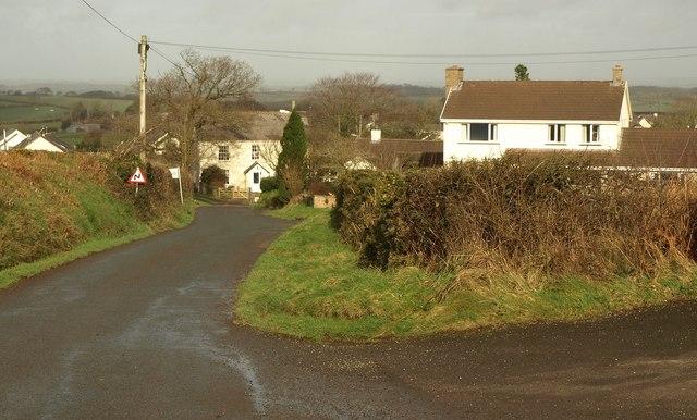 Station Road, Northlew