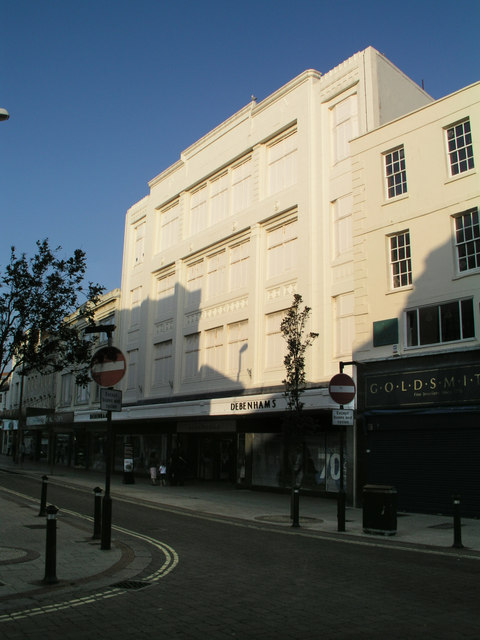Debenhams in South Street