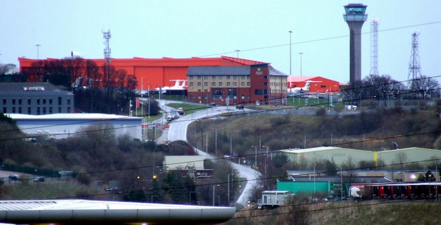 Luton Airport and Airport Way