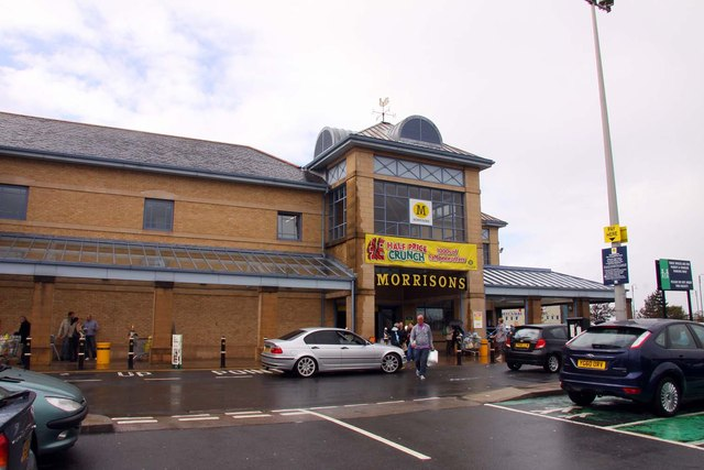 Morrisons supermarket in Morecambe