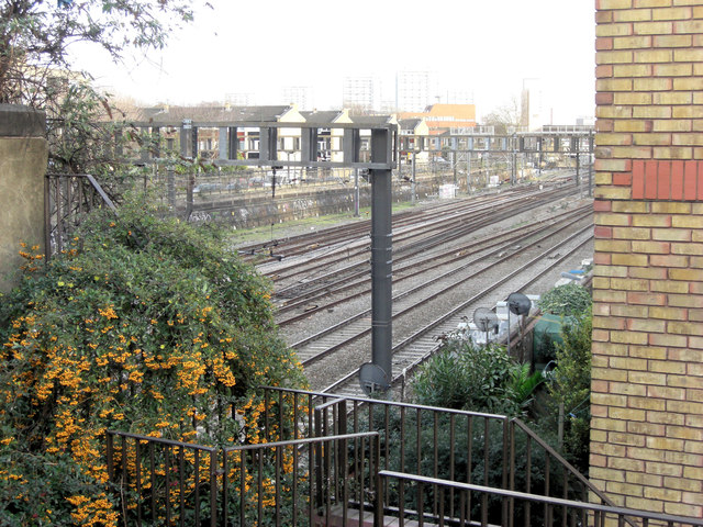 Main railway line into Paddington