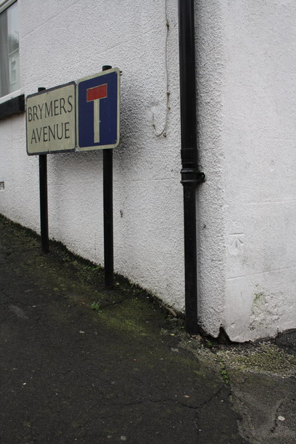 Benchmark on #2 Brymers Avenue