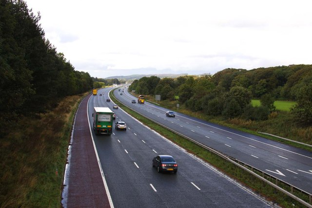 The M6 looking north