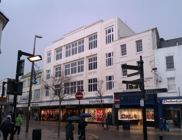 Debenhams looking better