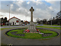 SD6108 : Fingerpost War Memorial, Aspull by David Dixon