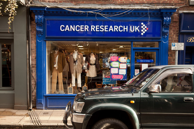 Cancer Research UK charity shop, King Street, Knutsford