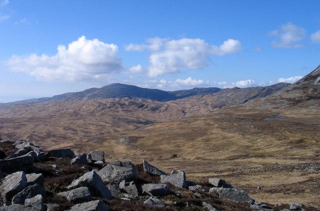 Rocks of knoll east of Lochanan Tana