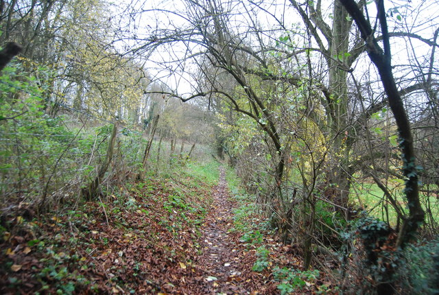 Footpath to Loose