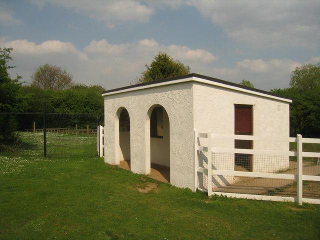 Whitewashed animal house