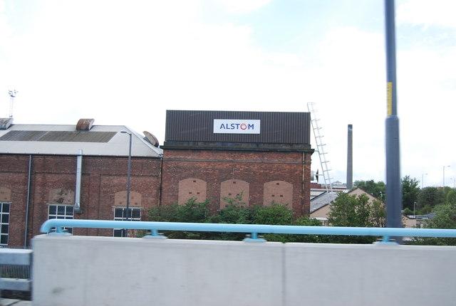 Alstrom Works, Polmadie
