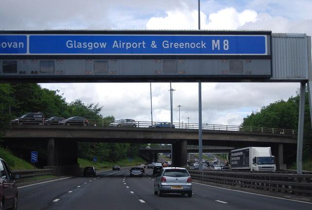 Overbridge junction 23, M8