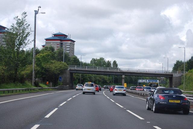 Arkleston Road Bridge, M8
