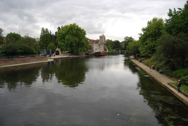 River Medway in Maidstone