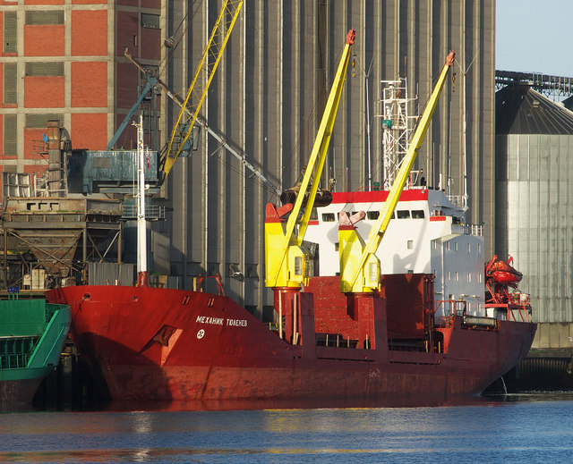 The 'Mekhanik Tyulenev' at Belfast