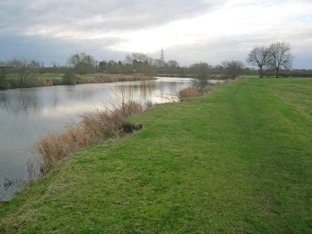 River Trent north of Farndon
