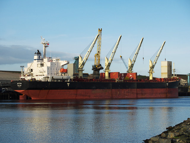 The 'Astra' at Belfast