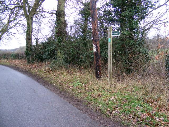 The Grove & footpath