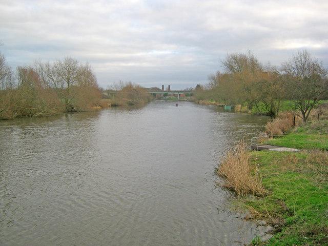 River Trent at Farndon