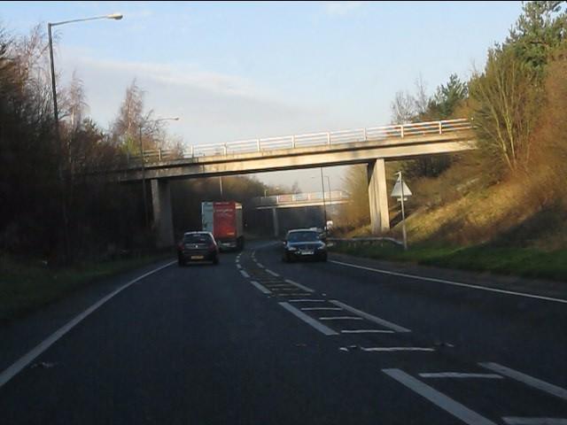Station Road overbridge, Weaverham bypass