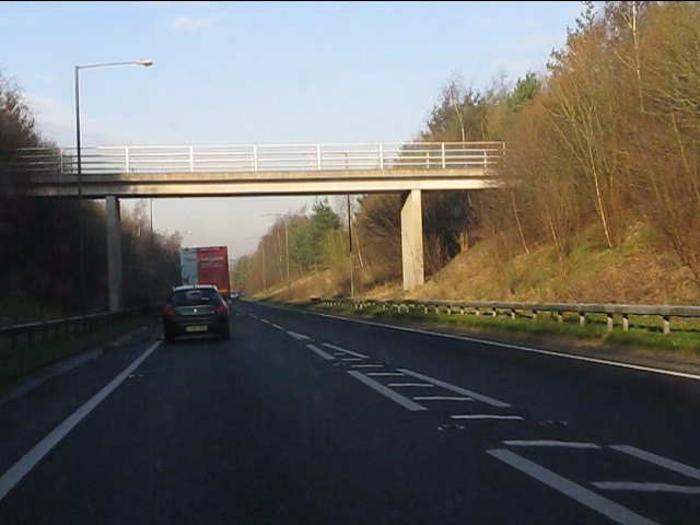 Accommodation bridge, Weaverham bypass