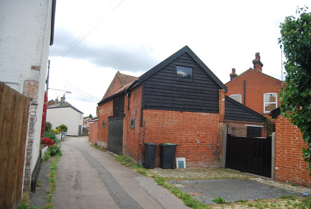 Out building on Back Lane