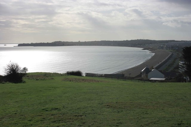 Weymouth Bay and Furzy Cliff