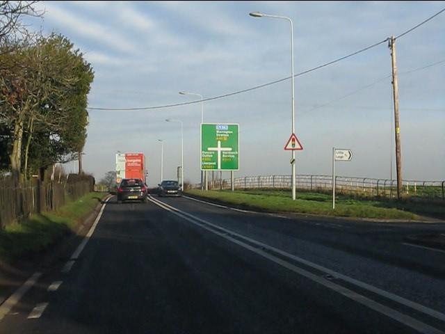 A49 at Smithy Lane