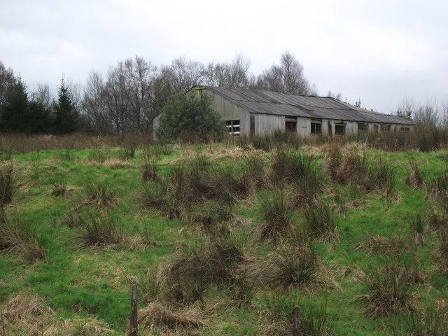 Derelict hen house