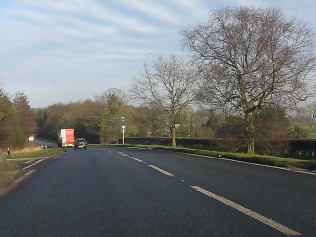 A49 at Brookhouse Lane