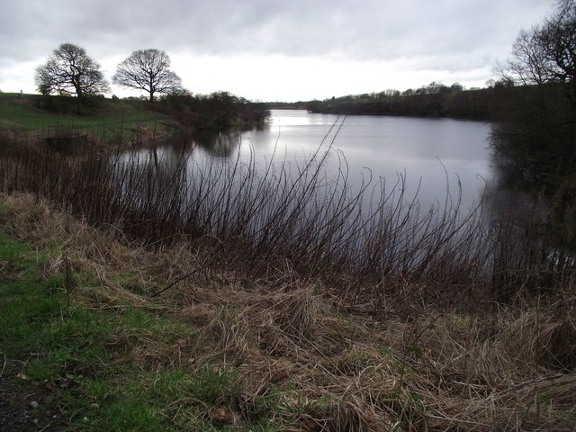 Reservoir near White Coppice