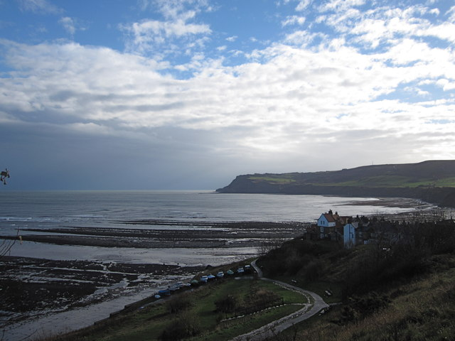 Robin Hood's Bay low-tide