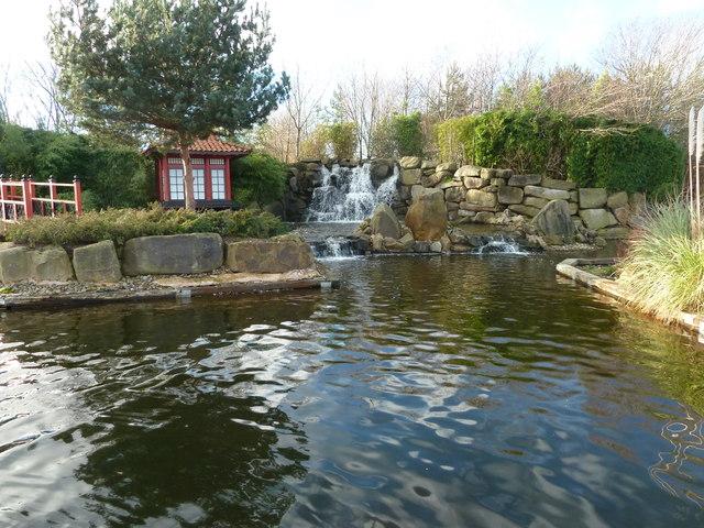 Japanese Water Garden, Hey Houses