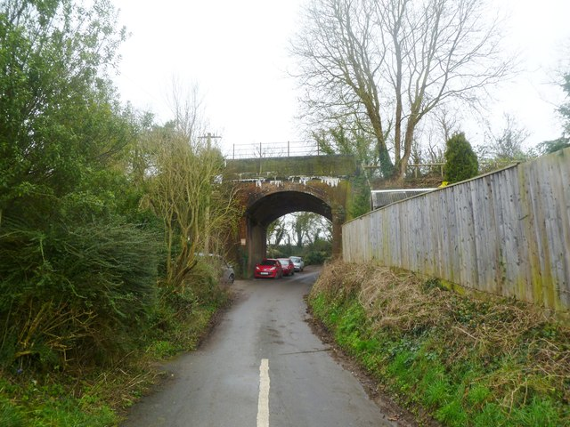 Spetisbury, disused railway bridge