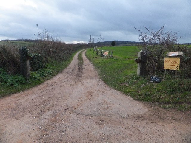 Road to Helwell Barton Farm