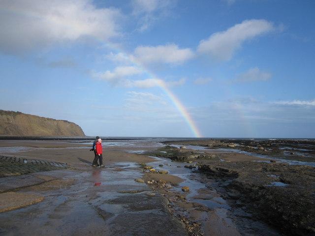 Rainbow's end Robin Hood's Bay