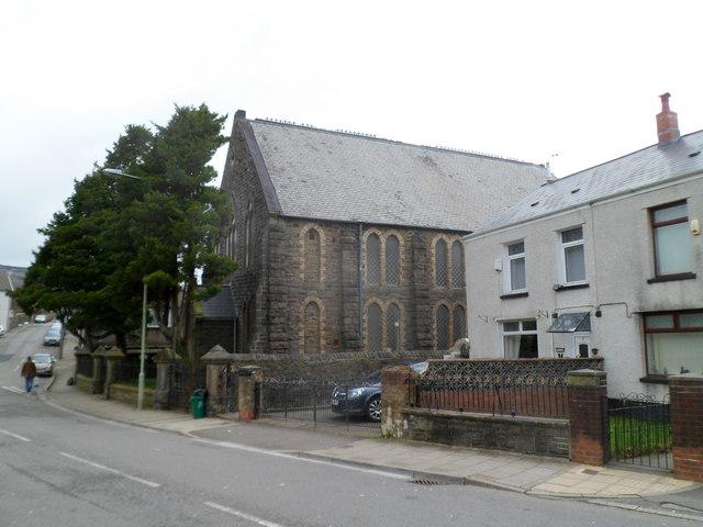 Blaen-y-cwm chapel, Tynewydd