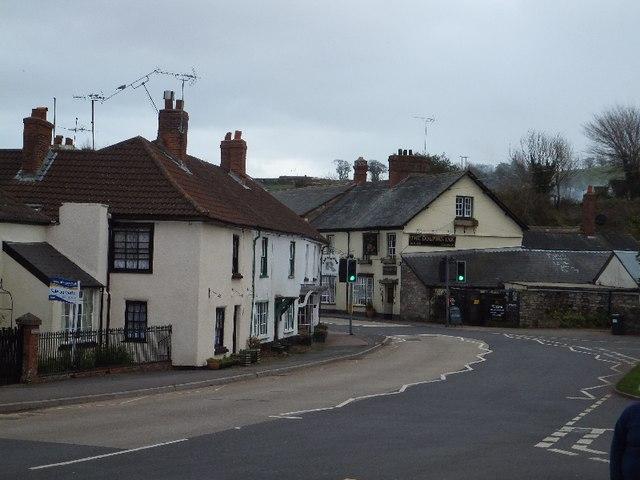 The centre of Kenton